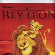 Cine: EL REY LEON. ALBUM COMPLETO.. Lote 25423570
