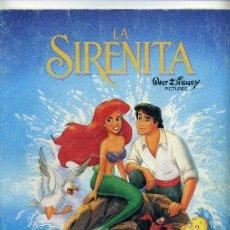 Cine: LA SIRENITA. ALBUM COMPLETO.. Lote 20270716