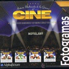 Cine: FOTOGRAMAS AÑO 2000 - 4 CD HISTORIA MULTIMEDIA CON INFORMACION PELICULAS ACTORES DIRECTORES . Lote 26790822