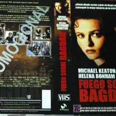 Cine: FUEGO SOBRE BAGDAD - CARATULA VIDEO TAMAÑO GRANDE. Lote 17119947