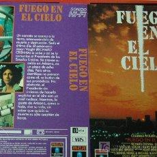 Cine: FUEGO EN EL CIELO - CARATULA VIDEO TAMAÑO GRANDE. Lote 17120122