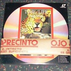 Cine: LASER DISC - DOCUMENTALES TIME / LIFE LOTE DE 3 UNIDADES LP DE 100 MINUTOS, NUEVO SIN DESPRECINTAR. Lote 26884089