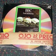 Cine: LASER DISC - DOCUMENTALES BBC LOTE DE 2 UNIDADES LP 100 MINUTOS - NUEVO SIN DESPRECINTAR. Lote 26259177