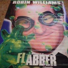 Cine: FLUBBER DISNEY (ROBIN WILLIAMS) VINILO GRAN FORMATO. Lote 25452571