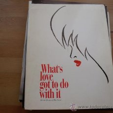 Cine: TINA (WHAT'S LOVE GOT TO DO WITH IT) CARPETA - GUIA INPORTACION MOD 2. Lote 20125427