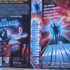 Cine: LOS INVASORES - CARATULA DE VIDEO. Lote 20442478