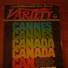 Cine: 22 ND INTERNATIONAL FILM ANNUAL -VARIETY, CANNES. Lote 178685713