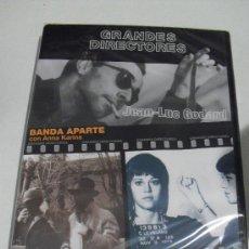 Cine: COLECCION GRANDES DIRECTORES - JEAN LUC GODARD. Lote 26701301