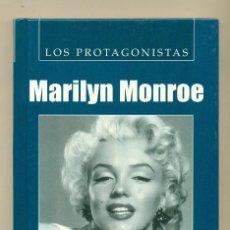 Cine: MARILYN - LISANDRO JOAQUINEZ - LOS PROTAGONISTAS. ED VISOR 2004 -TAPA DURA -IMPECABLE. Lote 27407945