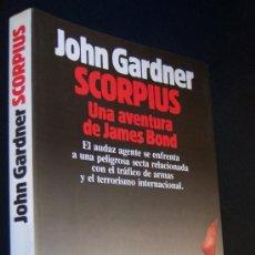 Cine: SCORPIUS, UNA AVENTURA DE JAMES BOND 007.LIBRO ESCASO Y DIFÍCIL DE ENCONTRAR. JOHN GARDNER.. Lote 226464540