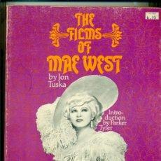 Cine: MAE WEST - THE FILMS - CITADEL 1975 CON MUCHAS FOTOS - TEXTO EN INGLES. Lote 28220924