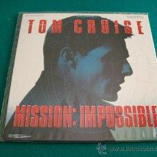 Cine: MISIÓN IMPOSIBLE ( LASER DISC ). Lote 28578219