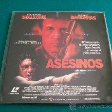 Cine: ASESINOS ( LASER DISC ). Lote 28578596