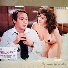 Cine: CARTEL, POSTER, CINE, CARAY CON EL DIVORCIO, FERNANDO ESTESO, RAFAEL ALONSO, 1982, 24 X 32 CM. Lote 29308300
