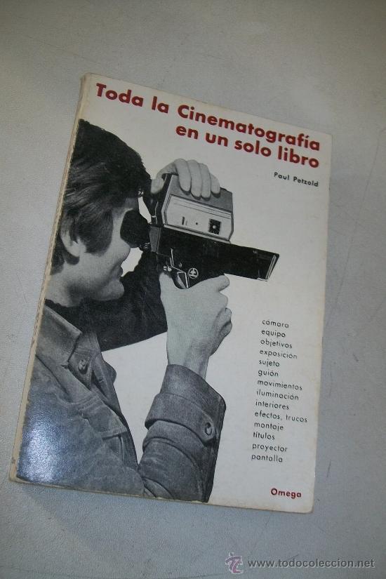 TODA LA CINEMATOGRAFÍA EN UN SOLO LIBRO-PAUL PETZOLD-1970-FOTO BIBLIOTECA-EDC:OMEGA (Cine - Varios)