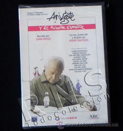 ANTONIO MINGOTE Y EL HUMOR ESPAÑOL - DOCUMENTAL - DVD ABC 2007 H. GRÁFICO ARTE PINTURA - NUEVO (Cine - Varios)