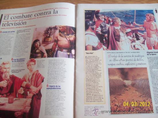 Cine: FASCICULO Nº 4 100 AÑOS DE CINE EL GRAN ESPECTACULO - CAJA MADRID - Foto 3 - 30924366