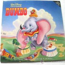 Cine: LASER DISC - DUMBO - WALT DISNEY. Lote 31262069