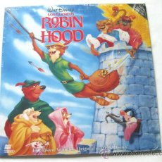 Cine: LASER DISC - ROBIN HOOD - WALT DISNEY. Lote 31262108