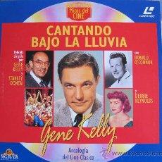 Cinema: LASER DISC - CANTANDO BAJO LA LLUVIA - GENE KELLY - EDICION DE 1994. Lote 31160828
