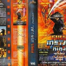 Cinema: CARATULA VHS - FULL METAL NINJA - PEDIDO MINIMO 6€. Lote 31592611