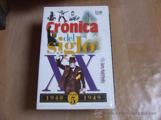 CRÓNICA DEL SIGLO XX. 1940-1949. CD-ROM. (Cine - Varios)