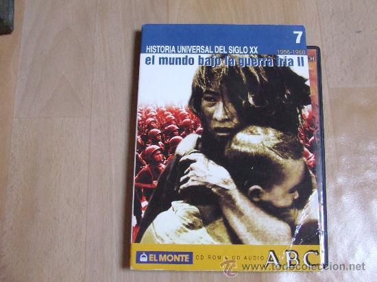 HISTORIA UNIVERSAL DEL SIGLO XX. 1956-1968.EL MUNDO BAJO LA GUERRA FRÍA II. CD-ROM. (Cine - Varios)
