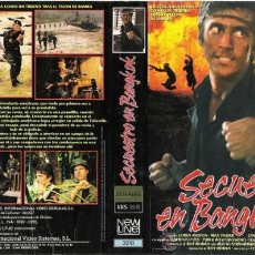 Cinema: CARATULA VHS - SECUESTRO EN BANGKOK - PEDIDO MINIMO 6€. Lote 32177433
