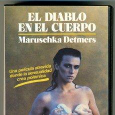 Cine: VIDEO VHS EROTICO - EL DIABLO EN EL CUERPO. Lote 32603890