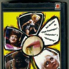Cine: VIDEO VHS EROTICO - VIVIR DESESPERADAMENTE. Lote 32604014