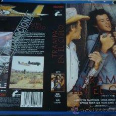 Cine: TRAMPA EN EL CIELO - CARATULA DE VIDEO GRANDE - MARTIN KOVE - PATRICIA CROWLEY. Lote 32863329