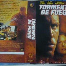 Cine: TORMENTA DE FUEGO - CARATULA DE VIDEO GRANDE - HOWIE LONG - SUZY AMIS. Lote 32863991