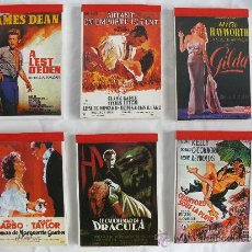 Cine: LIBRETAS 10 VINTAGE DE LOS 70 CINE, IDEAL CINEFILOS IDEAL BOLSO O CINEFILOS, 10,5 X 7,3 MIR. Lote 48605646