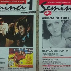 Cine: CINE-PELICULAS-(SEMINCI-AÑO:1989)-PROGRAMACION COMPLETA. Lote 43800761