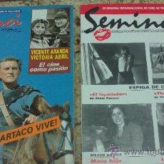 Cine: CINE-PELICULAS-(SEMINCI-AÑO:1991)-PROGRAMACION COMPLETA. Lote 33304439