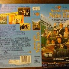 Cine: CARATULA VIDEO VHS NIÑO RICO. Lote 180168235