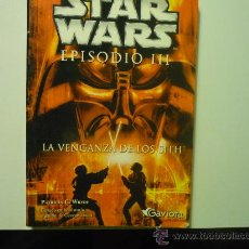 Cine: LIBRO STAR WARS-EPISODIO III .- LA VENGANZA DE LOS SITH. Lote 72755734