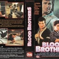 Cinema: CARATULA VHS -BLOOD BROTHERS - PEDIDO MINIMO 6€. Lote 34314927