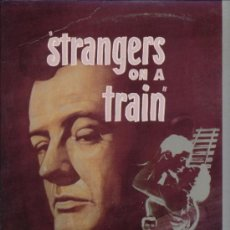 Cine: STRANGERS ON A TRAIN LASER DISC. Lote 34855856
