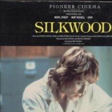 Cine: SILKWOOD LASER DISC. Lote 34855867