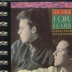 Cine: TEARS FOR FEARS LASER DISC SCENES FROM THE BIG CHAIR NUEVO, PRECINTADO. Lote 34856015
