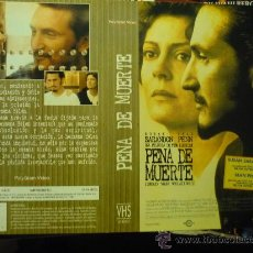 Cine: CARATULA VIDEO VHS- PENA DE MUERTE. Lote 180168237