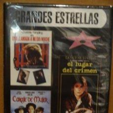 Cine: 3X1 / UNA LLAMADA A MEDIA NOCHE / EL LUGAR DEL CRIMEN / CORAJE DE MUJER. PRECINTADO.. Lote 35055092