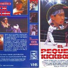 Cinema: CARATULA VHS - EL PEQUEÑO KICKBOXER - PEDIDO MINIMO 6€. Lote 35098424