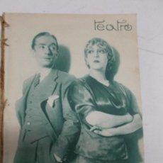 Cine: LOTE 30 SUPLEMENTOS DE TEATRO Y Y 50 DE CINEMA AÑO 1934 DE REVISTA BLANCO Y NEGRO. CINE FOTOGRAFÍAS. Lote 35554488