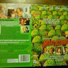 Cine: CARATULA VIDEO VHS MARS ATTACKS¡¡ JACK NICHOLSON. Lote 180168256