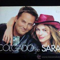 Cine: COLGADO DE SARA, DE REGINALD HUDLIN. ELIZABETH HURLEY, MATTHEW FERRY... PRESSBOOK. Lote 35600411