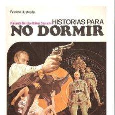 Cine: HISTORIAS PARA NO DORMIR Nº 2 -1971-IBAÑEZ SERRADOR- CHRISTOPHER LEE - NASCHY - SI USAR - DE KIOSKO. Lote 35624779