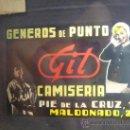 Cine: ANTIGUO ANUNCIO CINE DIAPOSITIVA CRISTAL - GENEROS DE PUNTO GIL CAMISERIA - VALENCIA PIE DE LA CRUZ. Lote 36601980