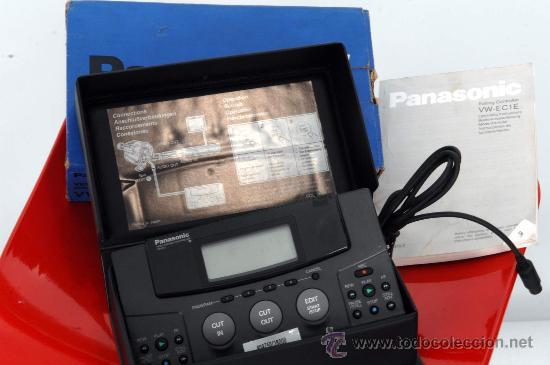 Cine: PANASONIC VIDEO EDITING VW-EC1 - Foto 2 - 36786050